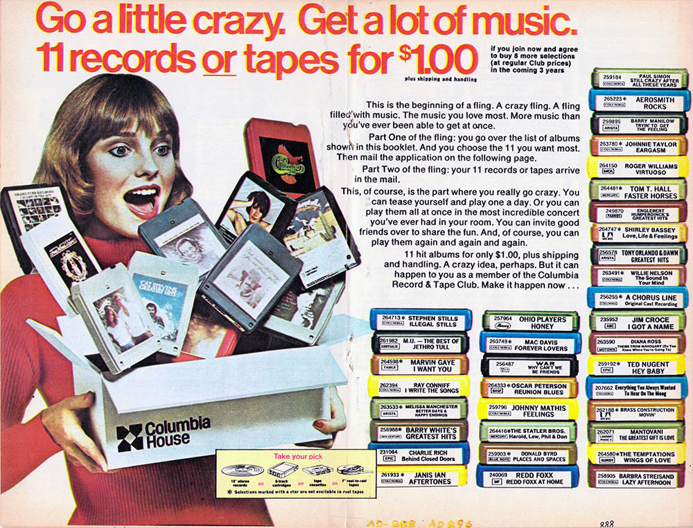 1976 Columbia House ad - page 4 (click to embiggen)